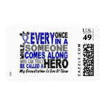 ALS Hero Comes Along 1 Grandfather Postage Stamps