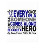 ALS Hero Comes Along 1 Grandfather Postcards