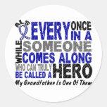 ALS Hero Comes Along 1 Grandfather Sticker