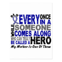 ALS Hero Comes Along 1 Mother Postcard