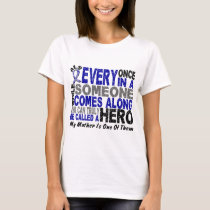 ALS Hero Comes Along 1 Mother T-Shirt