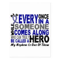 ALS Hero Comes Along 1 Nephew Postcard