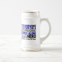 ALS Hero Comes Along 1 Sister Beer Stein