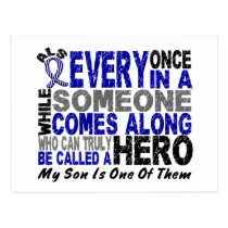 ALS Hero Comes Along 1 Son Postcard