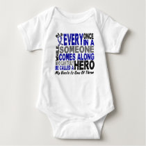 ALS Hero Comes Along 1 Uncle Baby Bodysuit