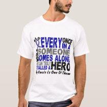 ALS Hero Comes Along 1 Uncle T-Shirt