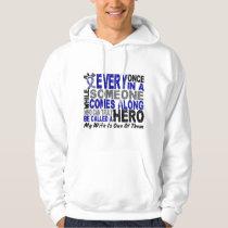 ALS Hero Comes Along 1 Wife Hoodie