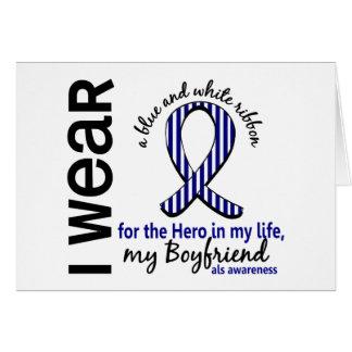ALS Hero In My Life Boyfriend 4 Greeting Card