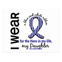 ALS Hero In My Life Daughter 4 Postcard