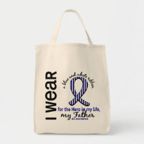 ALS Hero In My Life Father 4 Tote Bag