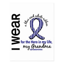 ALS Hero In My Life Grandma 4 Postcard