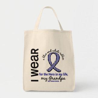 ALS Hero In My Life Grandpa 4 Grocery Tote Bag