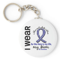 ALS Hero In My Life Mom 4 Keychain
