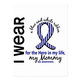 ALS Hero In My Life Mommy 4 Postcard