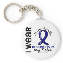 ALS Hero In My Life Sister 4 Keychain
