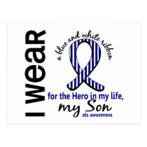 ALS Hero In My Life Son 4 Postcard