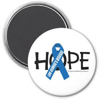 ALS Hope 3 Inch Round Magnet