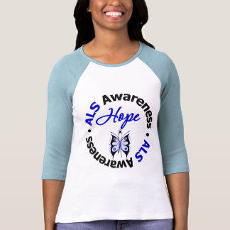 ALS Hope Butterfly Shirts