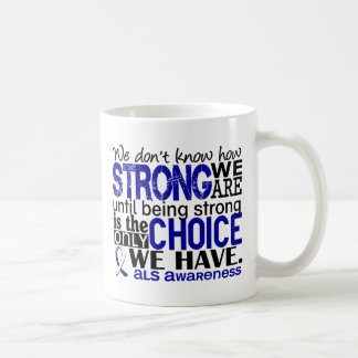 ALS How Strong We Are Classic White Coffee Mug