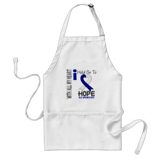 ALS I Hold On To Hope Adult Apron
