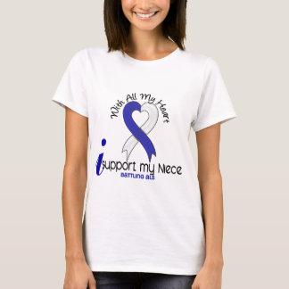 ALS I Support My Niece T-Shirt