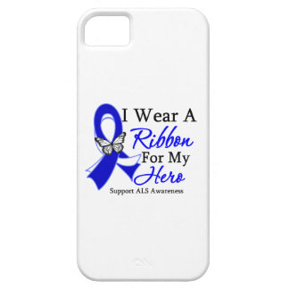 ALS I Wear a Ribbon For My Hero iPhone 5 Cover