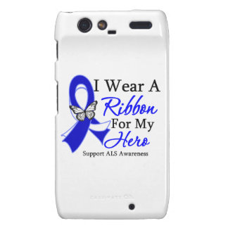 ALS I Wear a Ribbon For My Hero Droid RAZR Cover