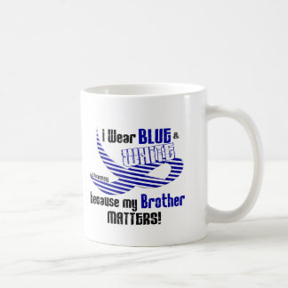 ALS I Wear Blue And White For My Brother 33 Coffee Mug