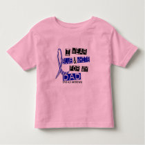 ALS I Wear Blue And White For My Dad 37 Toddler T-shirt