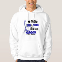 ALS I Wear Blue And White For My Daddy 37 Hoodie