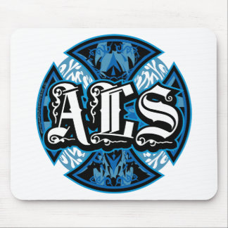 ALS Iron Cross Mouse Pad