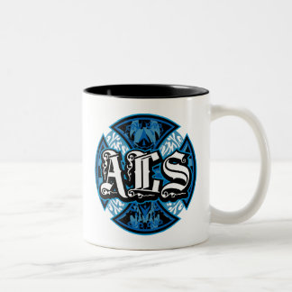 ALS Iron Cross Two-Tone Coffee Mug
