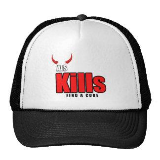 ALS KILLS CAP TRUCKER HAT
