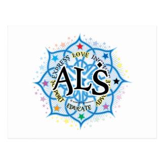 ALS Lotus Postcard