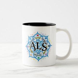 ALS Lotus Two-Tone Coffee Mug