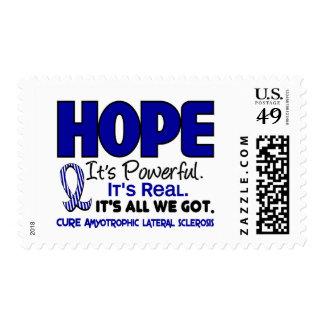 ALS Lou Gehrig's Disease HOPE 1 Postage