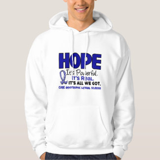 ALS Lou Gehrig's Disease HOPE 1 Sweatshirt