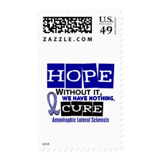 ALS Lou Gehrig's Disease HOPE 2 Postage Stamp