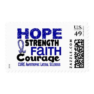 ALS Lou Gehrig's Disease HOPE 3 Stamp