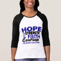 ALS Lou Gehrig's Disease HOPE 3 T-Shirt