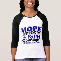 ALS Lou Gehrig's Disease HOPE 3 T-Shirt