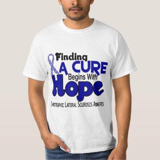 ALS Lou Gehrig's Disease HOPE 5 T-Shirt