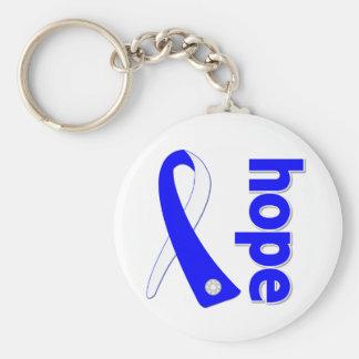 ALS Lou Gehrig's Disease HOPE Ribbon Keychain