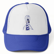 ALS Lou Gehrig's Disease Lighthouse of Hope Trucker Hat