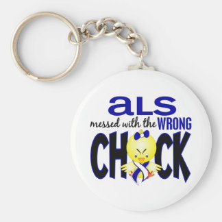 ALS Messed With The Wrong Chick Keychain