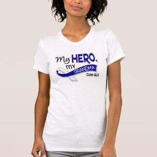 ALS mi abuela mi héroe 42 Camiseta