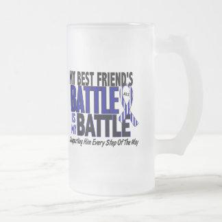 ALS mi batalla demasiado 1 mejor amigo (varón) Tazas