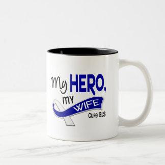 ALS mi esposa mi héroe 42 Taza De Café