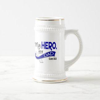ALS mi papá mi héroe 42 Taza De Café