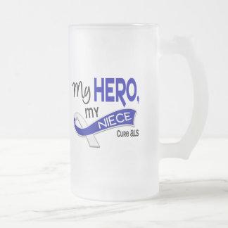 ALS mi sobrina mi héroe 42 Taza De Café